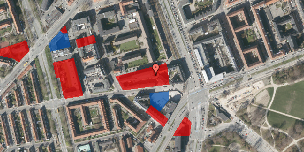 Jordforureningskort på Aldersrogade 6C, 1. , 2100 København Ø