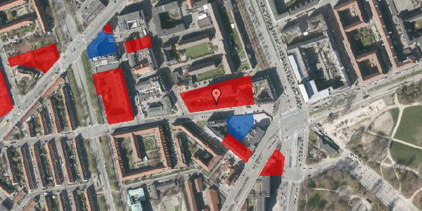 Jordforureningskort på Aldersrogade 6F, 1. , 2100 København Ø
