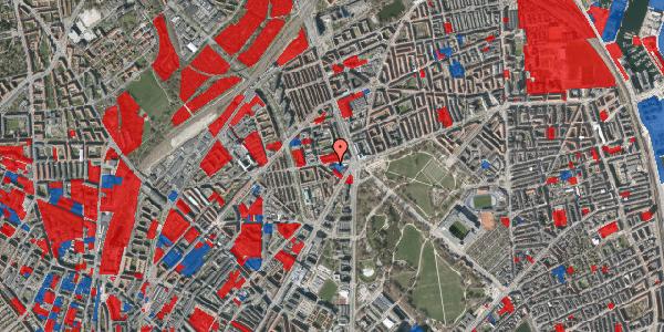 Jordforureningskort på Aldersrogade 9, 3. th, 2100 København Ø