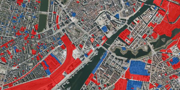 Jordforureningskort på Anker Heegaards Gade 8, 4. tv, 1572 København V