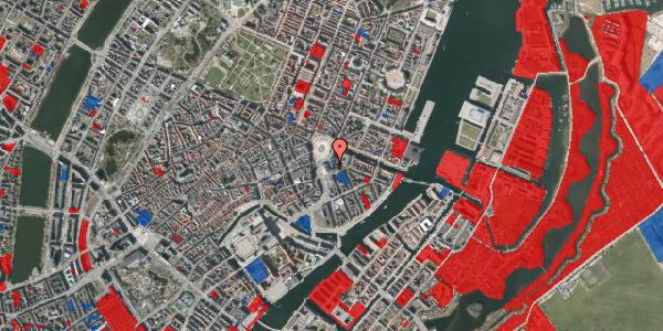 Jordforureningskort på August Bournonvilles Passage 1, 2. , 1055 København K