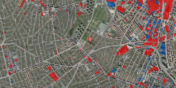 Jordforureningskort på Bakkevej 3, 2400 København NV