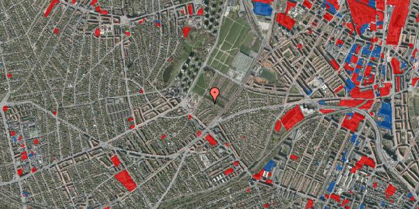 Jordforureningskort på Bakkevej 4, 2400 København NV