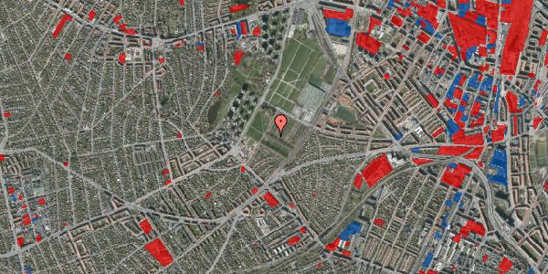 Jordforureningskort på Bakkevej 7, 2400 København NV