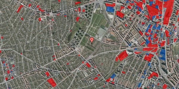 Jordforureningskort på Bakkevej 9, 2400 København NV