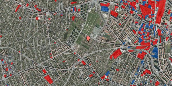 Jordforureningskort på Bakkevej 12, 2400 København NV