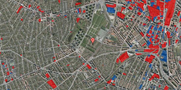 Jordforureningskort på Bakkevej 13, 2400 København NV