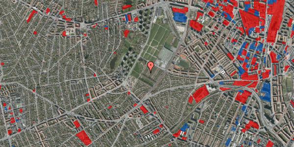 Jordforureningskort på Bakkevej 15, 2400 København NV