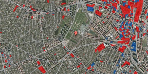 Jordforureningskort på Bakkevej 17, 2400 København NV