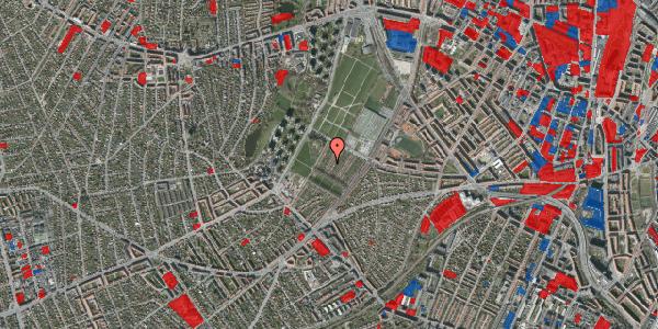 Jordforureningskort på Bakkevej 19, 2400 København NV
