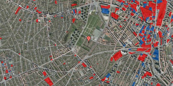 Jordforureningskort på Bakkevej 21, 2400 København NV