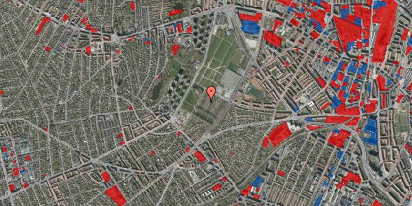 Jordforureningskort på Bakkevej 23, 2400 København NV