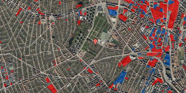 Jordforureningskort på Bakkevej 25, 2400 København NV