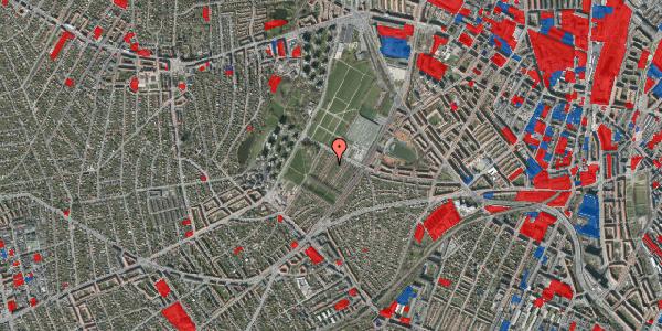 Jordforureningskort på Bakkevej 36, 2400 København NV