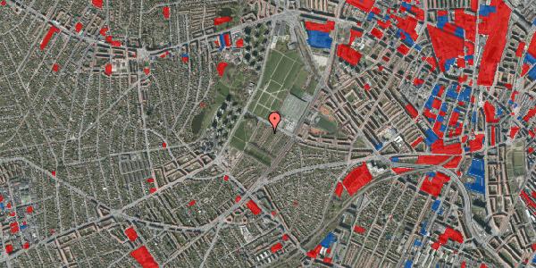 Jordforureningskort på Bakkevej 38, 2400 København NV