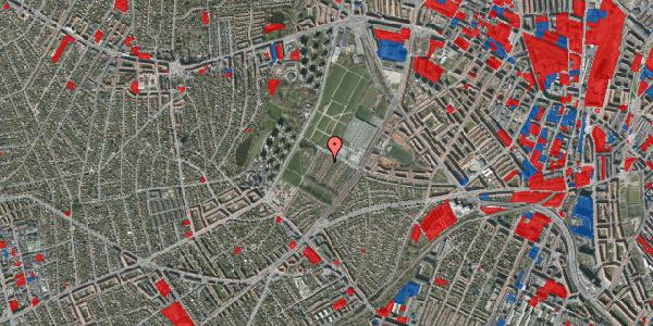 Jordforureningskort på Bakkevej 39, 2400 København NV