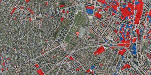 Jordforureningskort på Bakkevej 40, 2400 København NV