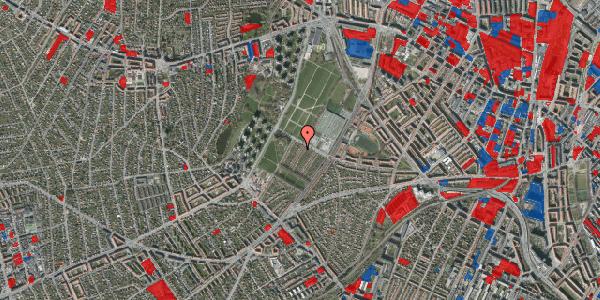 Jordforureningskort på Bakkevej 43, 2400 København NV