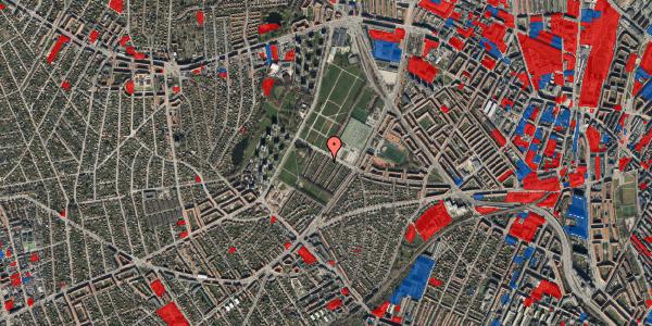 Jordforureningskort på Bakkevej 44, 2400 København NV