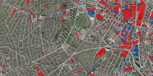 Jordforureningskort på Bakkevej 47, 2400 København NV