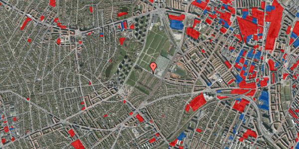Jordforureningskort på Bakkevej 50, 2400 København NV