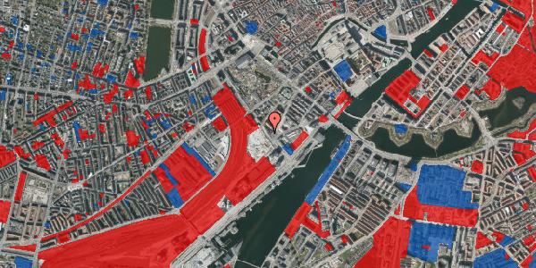 Jordforureningskort på Bernstorffsgade 25, 2. tv, 1577 København V