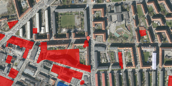 Jordforureningskort på Birkedommervej 1, 3. tv, 2400 København NV