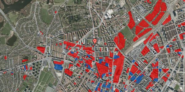 Jordforureningskort på Birkedommervej 3, 1. th, 2400 København NV