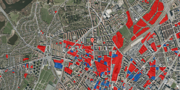 Jordforureningskort på Birkedommervej 7, 1. th, 2400 København NV