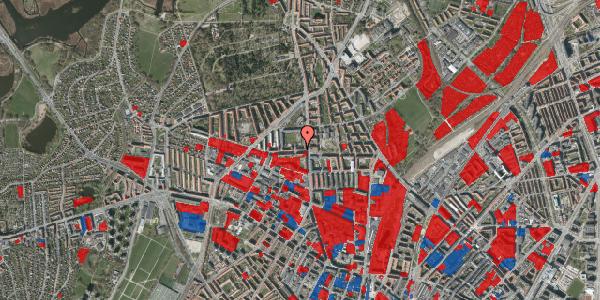 Jordforureningskort på Birkedommervej 8, 1. th, 2400 København NV