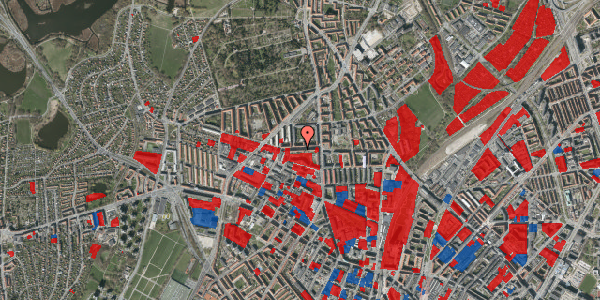 Jordforureningskort på Birkedommervej 13, 2. th, 2400 København NV