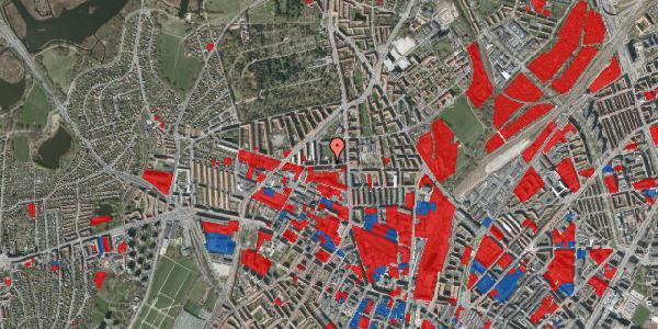 Jordforureningskort på Birkedommervej 14, 1. th, 2400 København NV