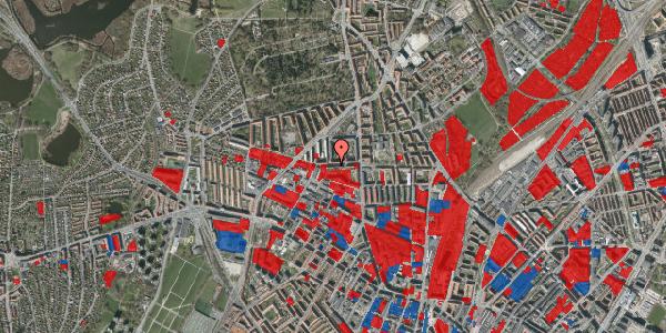 Jordforureningskort på Birkedommervej 17, 1. th, 2400 København NV