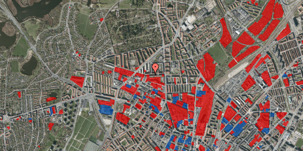 Jordforureningskort på Birkedommervej 19, 1. th, 2400 København NV