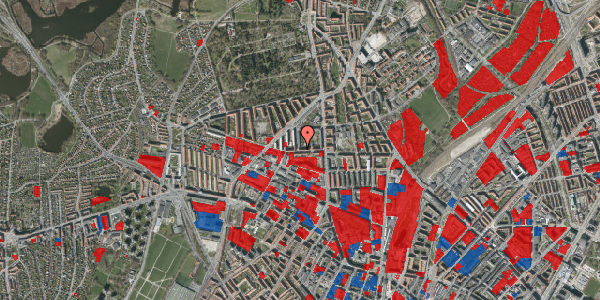Jordforureningskort på Birkedommervej 22, 3. th, 2400 København NV