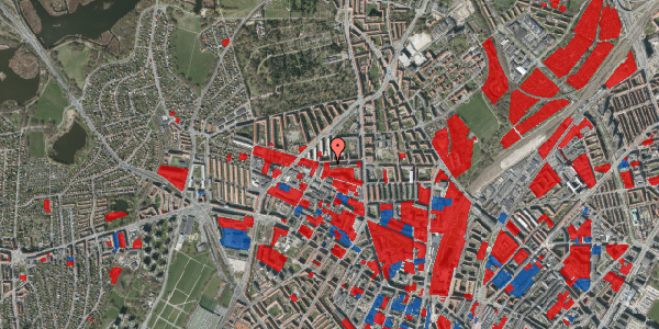 Jordforureningskort på Birkedommervej 23, 1. th, 2400 København NV