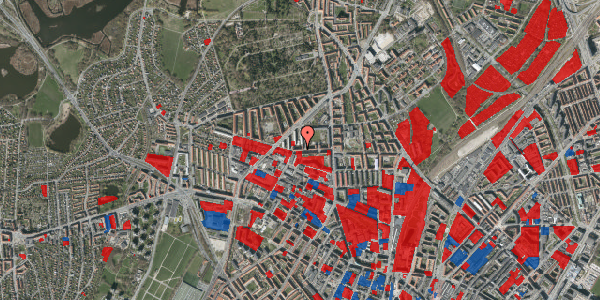 Jordforureningskort på Birkedommervej 26, st. tv, 2400 København NV