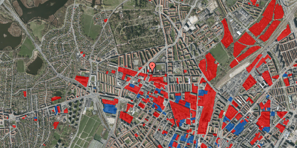 Jordforureningskort på Birkedommervej 30, st. tv, 2400 København NV