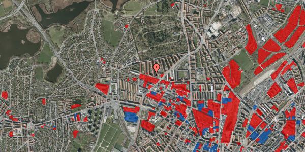 Jordforureningskort på Birkedommervej 58, 3. tv, 2400 København NV