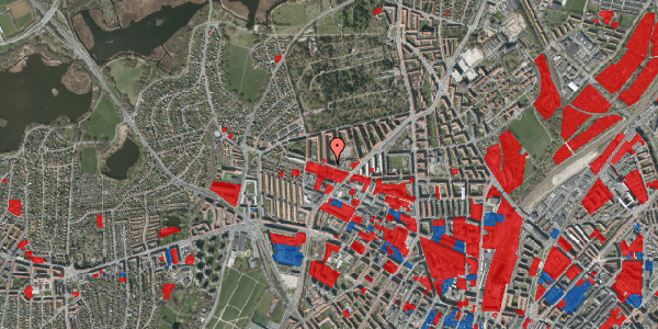 Jordforureningskort på Birkedommervej 62, st. tv, 2400 København NV
