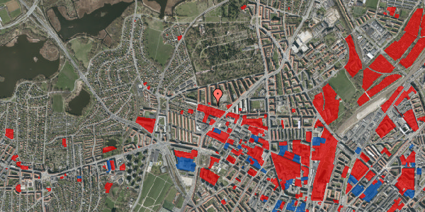 Jordforureningskort på Birkedommervej 62, 1. tv, 2400 København NV