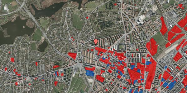 Jordforureningskort på Birkedommervej 69, 1. th, 2400 København NV