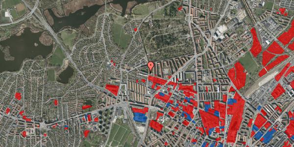 Jordforureningskort på Birkedommervej 70, 3. th, 2400 København NV