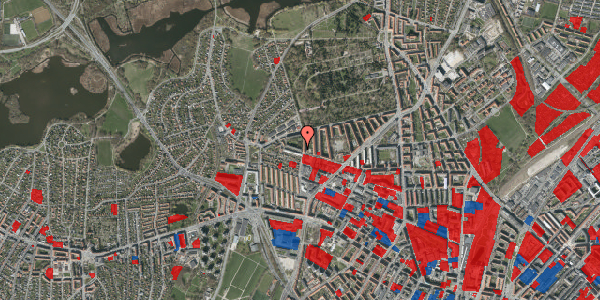 Jordforureningskort på Birkedommervej 70, 4. th, 2400 København NV