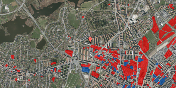 Jordforureningskort på Birkedommervej 73, 1. th, 2400 København NV