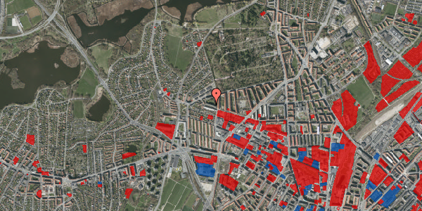 Jordforureningskort på Birkedommervej 78, 1. th, 2400 København NV