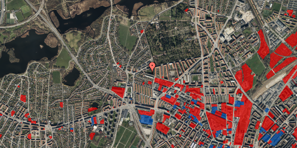 Jordforureningskort på Birkedommervej 82, 3. th, 2400 København NV