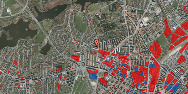 Jordforureningskort på Birkedommervej 84, 4. th, 2400 København NV