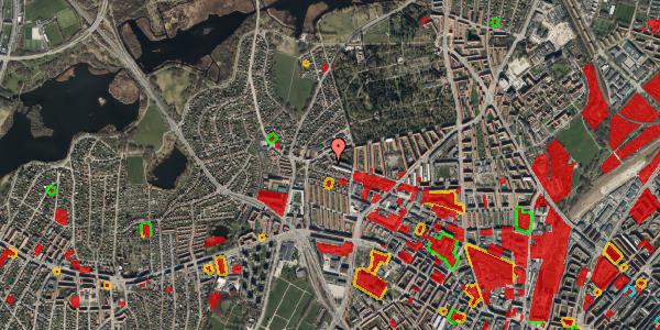 Jordforureningskort på Birkedommervej 85, 1. th, 2400 København NV