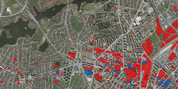 Jordforureningskort på Birkedommervej 86, 1. th, 2400 København NV